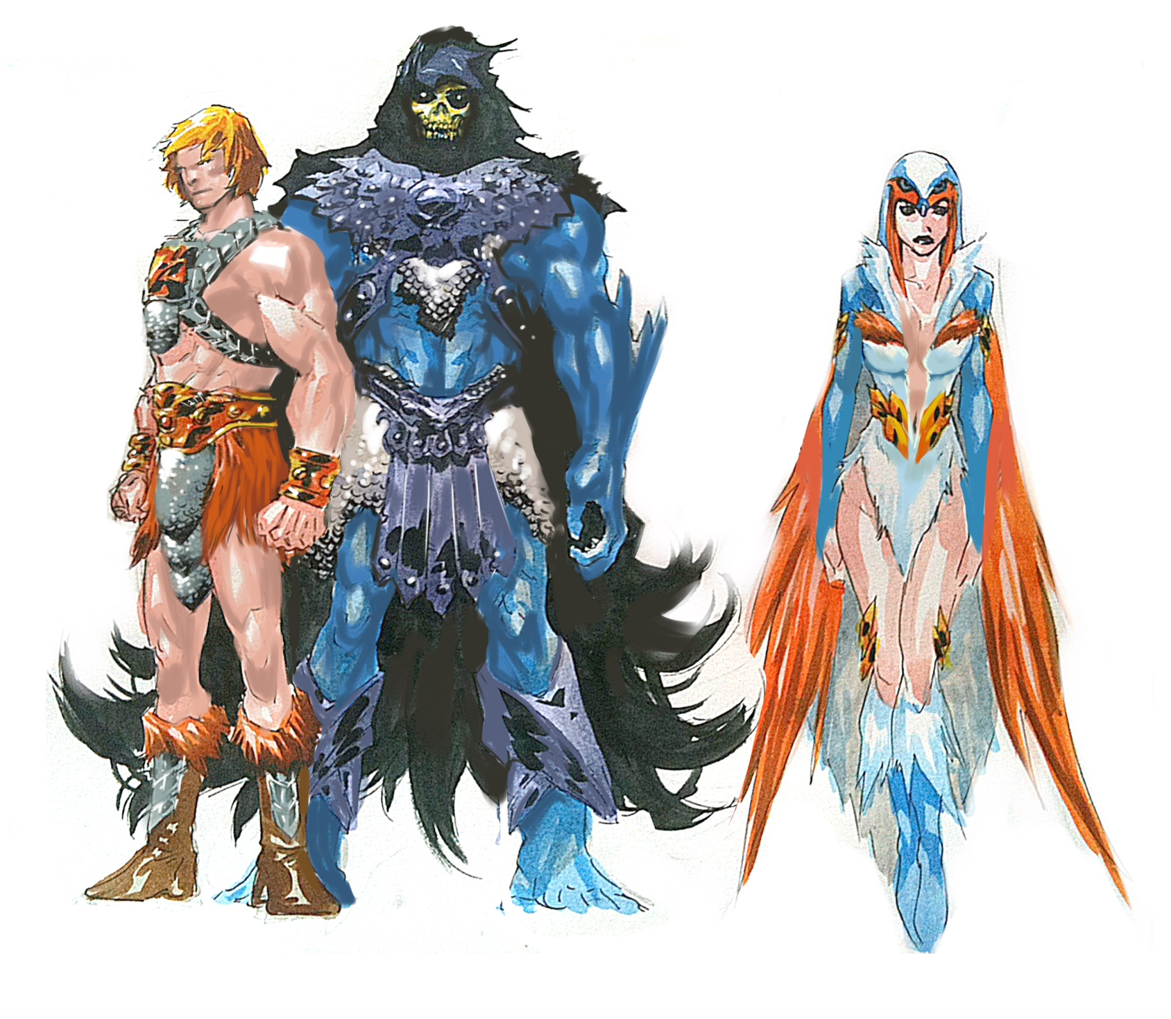 Character Design Masters : The breakdown masters of universe character designs dc