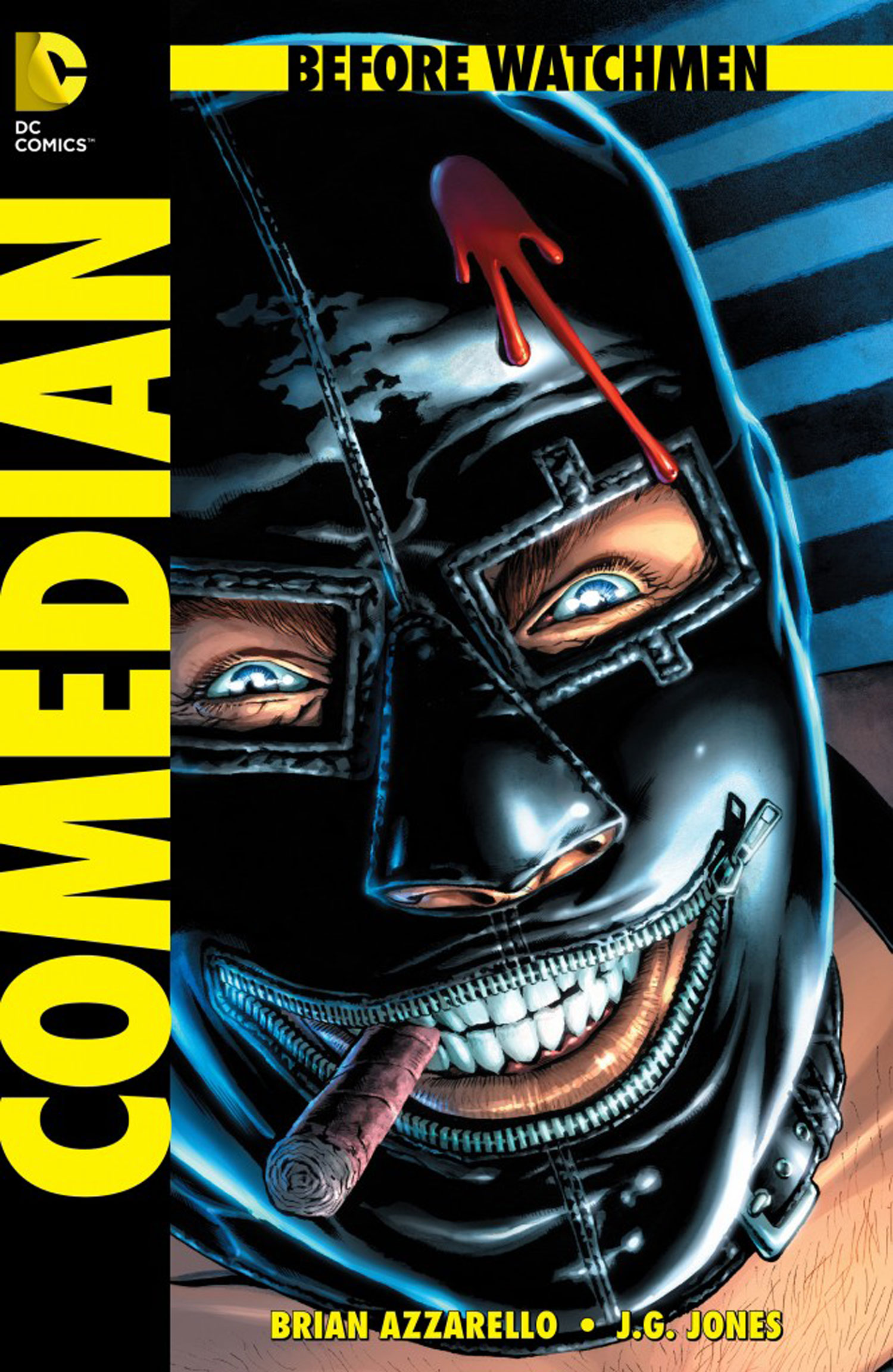 the covers for before watchmen dc