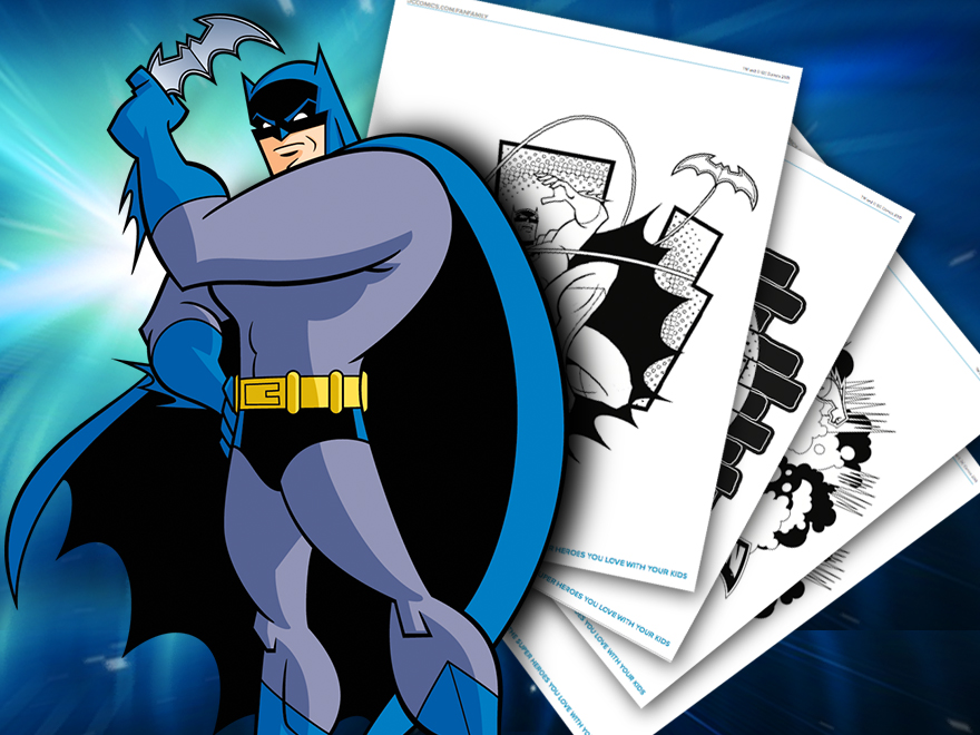 Themed Printables Batman The Brave and the Bold DC