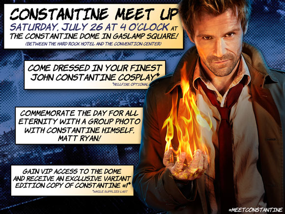 SDCC invites you to enter the dark world of Constantine