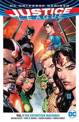JUSTICE LEAGUE VOL. 1: THE EXTINCTION MACHINES