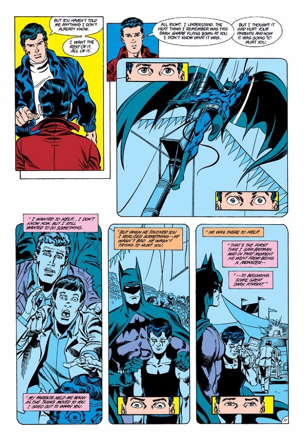 The Trapeze Swinger: Dick Grayson's Past Comes Back to Haunt Him | DC