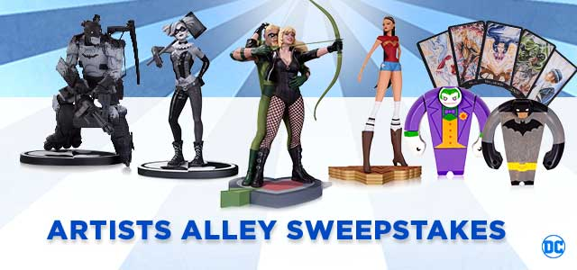 DC Collectibles Artists Alley Sweepstakes
