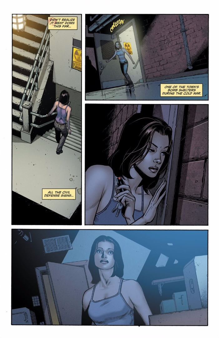 This just happened lois lane borrows the batmobile dc lois trails her surprised when candice enters through the back entrance and heads down to the lower levels thecheapjerseys Image collections