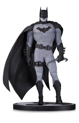 BATMAN BLACK & WHITE BATMAN BY JOHN ROMITA JR. STATUE
