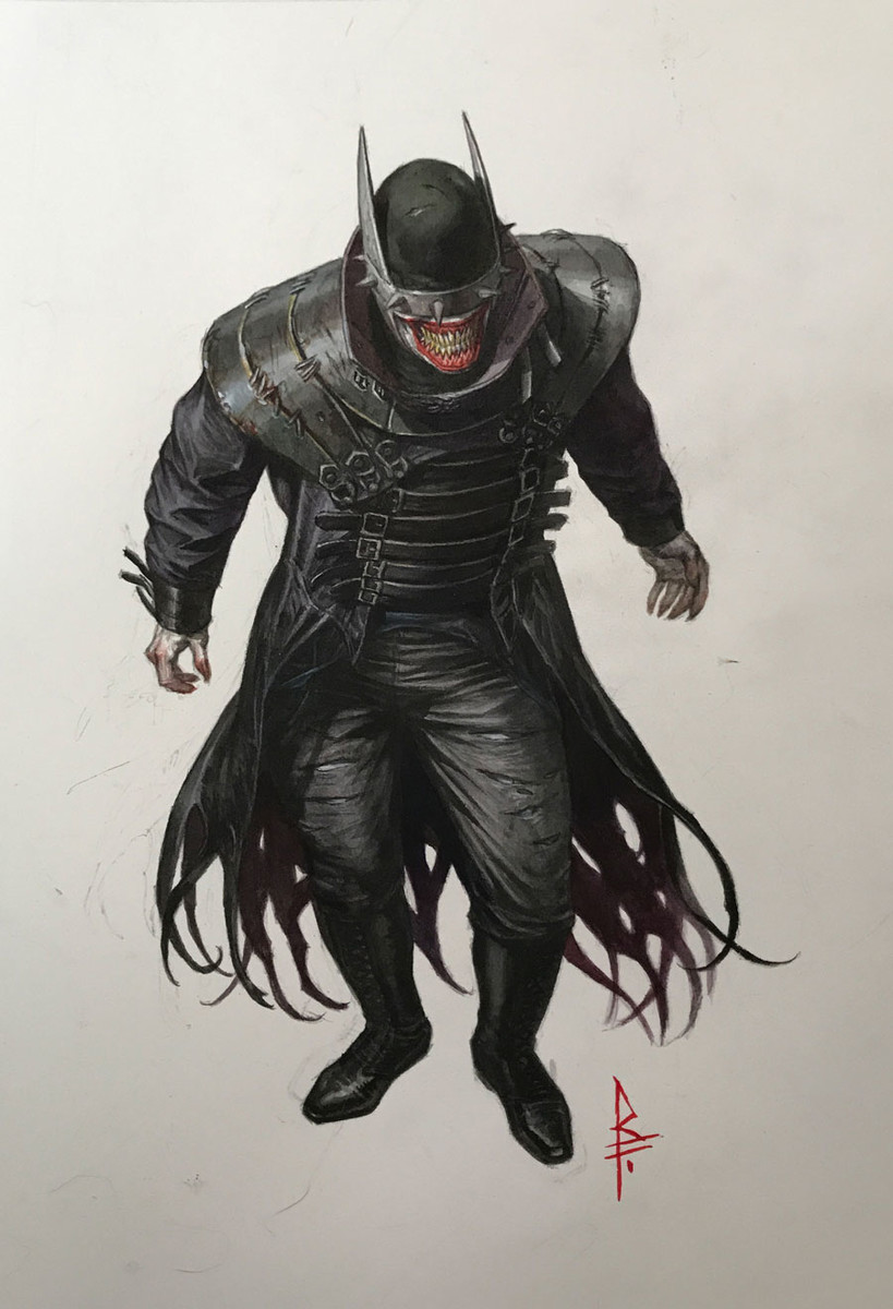 THE BATMAN WHO LAUGHS...AND HIS BOY WONDERS?   DC