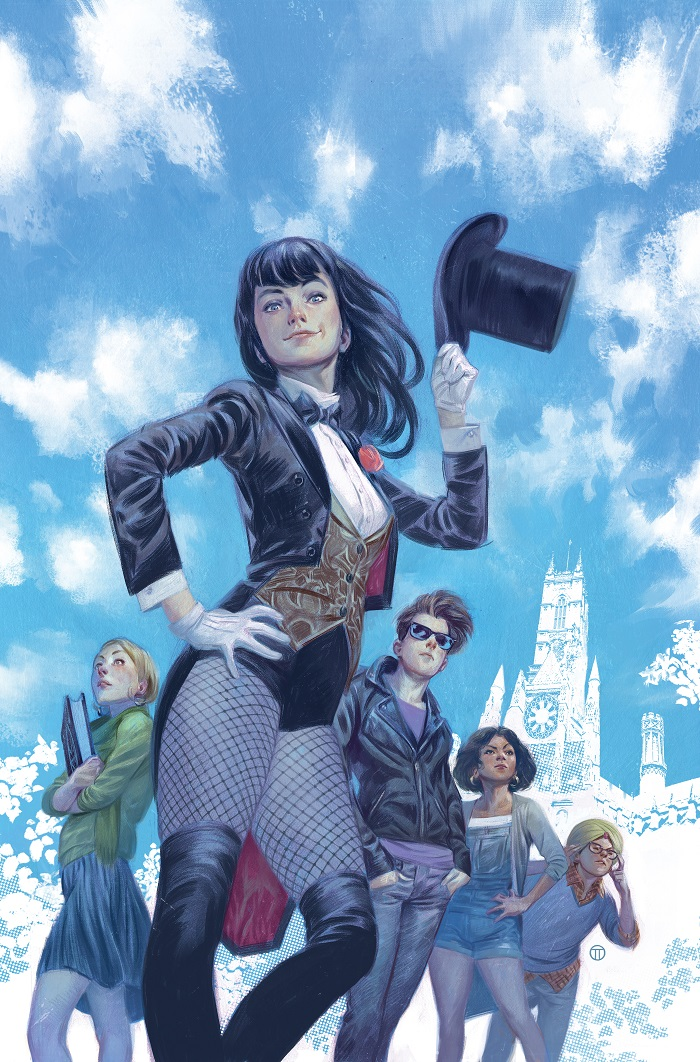 exclusive  zatanna  faust and more enroll in mystik u