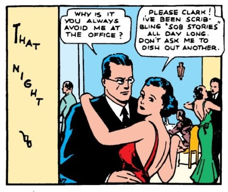 when does clark start dating lois