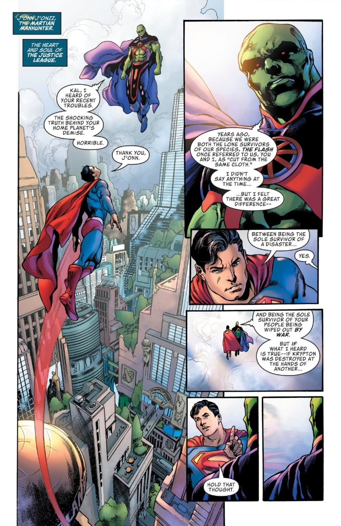 Sky's the Limit: Brian Michael Bendis Talks Superman and