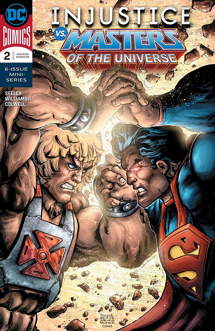 Masters Of The Crossover Seeley Williams Talk He Man Injustice Dc