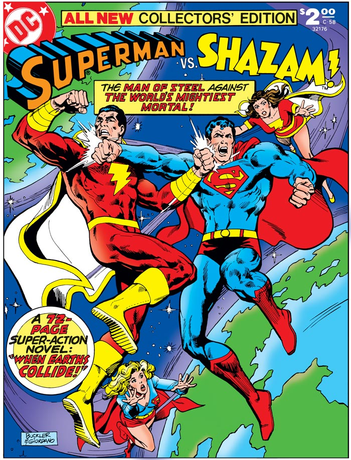 The Strange and Super-Powered History of Superman and Shazam