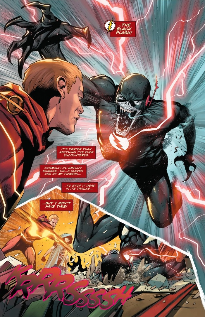 The Flash Speed Force No More Dc