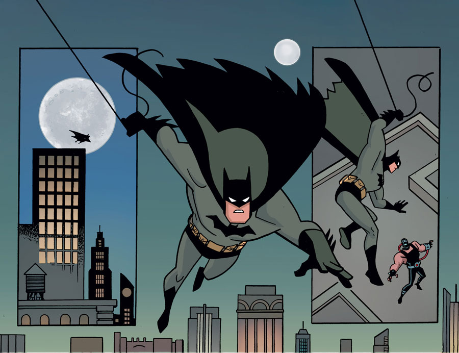 Batman The Adventures Continue Offers A Return To The Animated World Dc