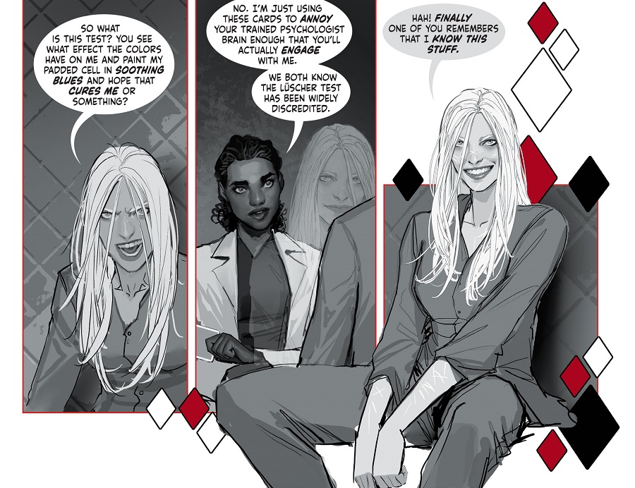 "HQBWR 01 300 4 5ef5525ceacd28.93446066 First Look: Stjepan Sejic's Harleen Sees ""Red"""