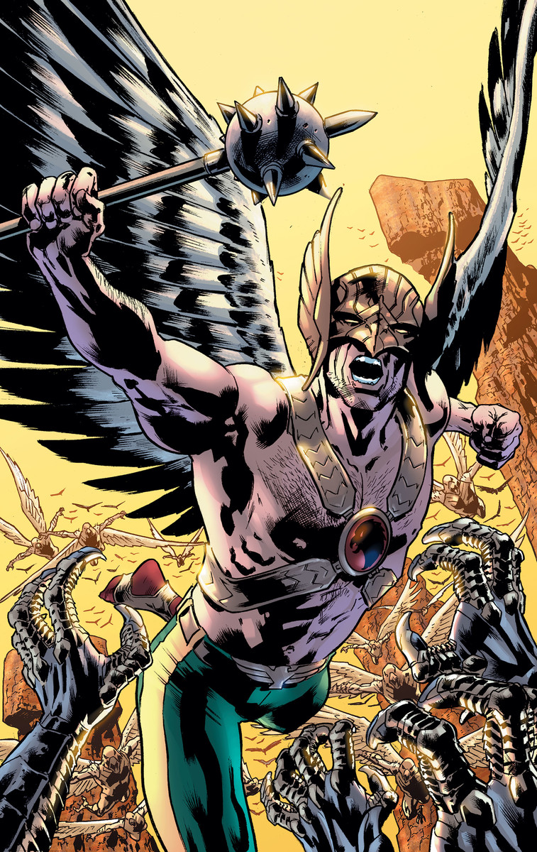 ROBERT VENDITTI TO GIVE HAWKMAN WINGS IN JUNE   DC