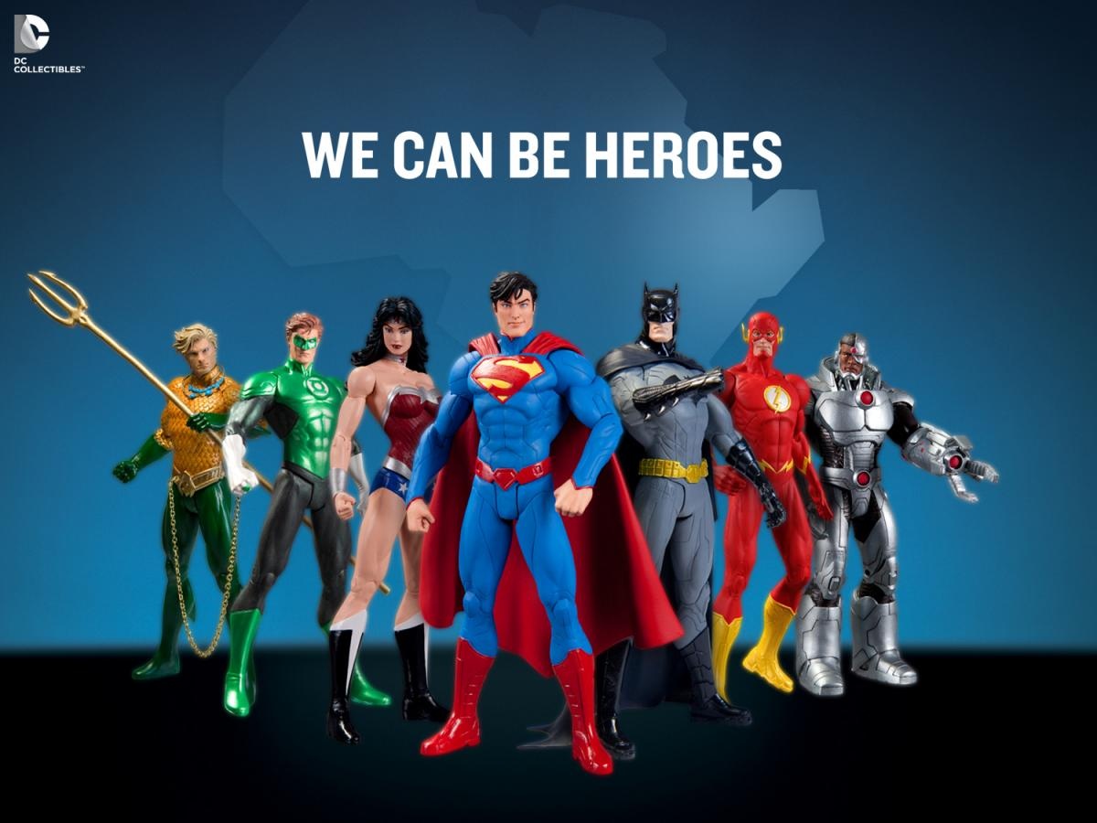 We Can Be Heroes 7-pack
