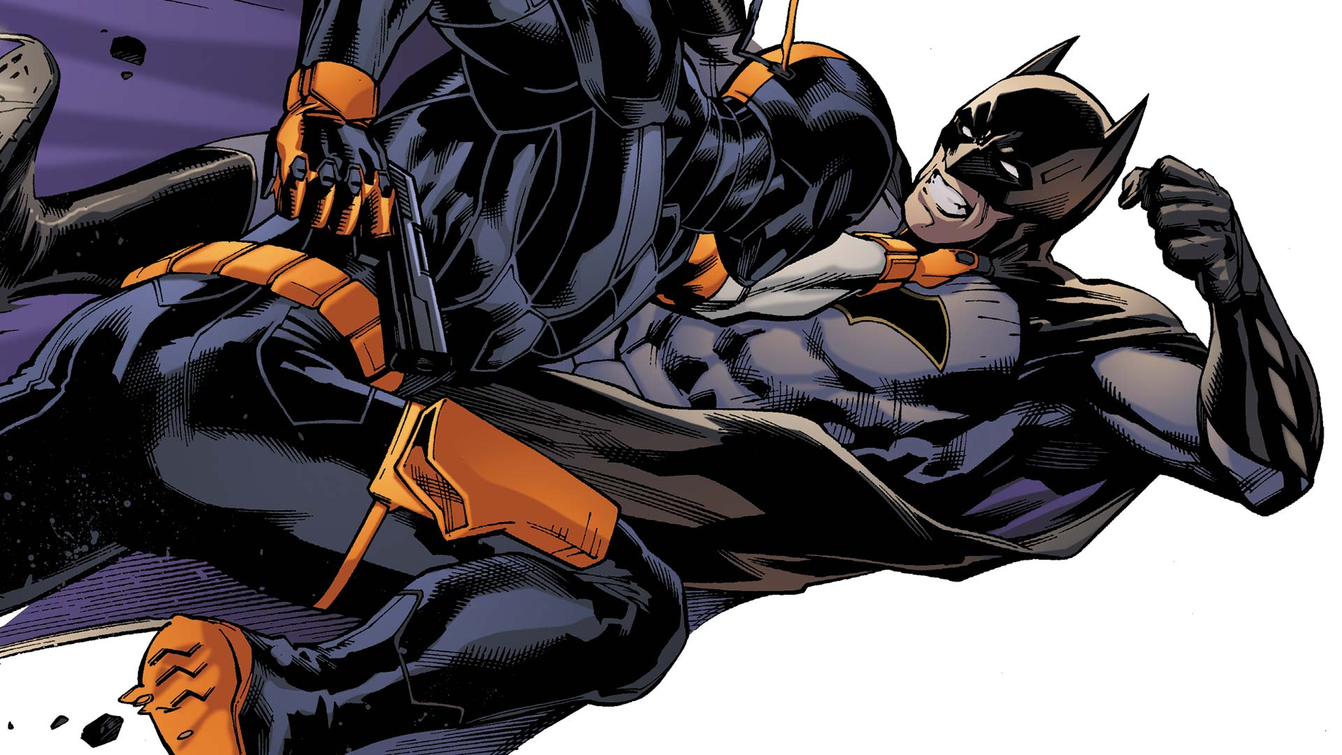 Deathstroke Vs Batman Sins Of The Fathers