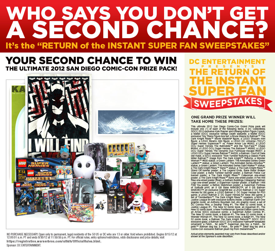 Second Chance Sweeps