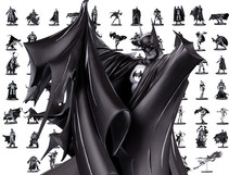 Batman: Black & White Celebrates its 100th Statue