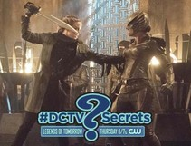 "The #DCTV Secrets of DC'S LEGENDS OF TOMORROW: Ep. 9 ""Left Behind"""