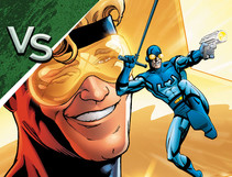 DC All Access: Booster Gold vs. Blue Beetle