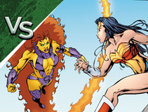 DC All Access: Wonder Woman vs. Starfire