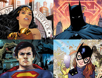 Dial-In From the DC Universe with These Virtual Backgrounds