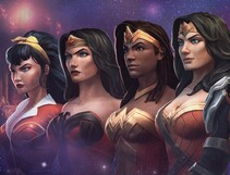 Leveling Up: Wonder Women Save The Multiverse
