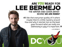 Are You Ready for We Are Robin's Lee Bermejo?
