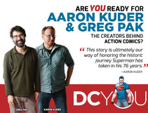 Are You Ready for Action Comics' Greg Pak and Aaron Kuder?