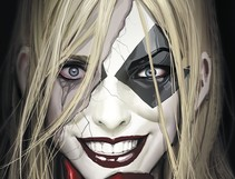 Harleen's Smiles Mask a Darkly Tragic Tale