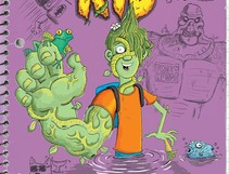 The Secret Spiral of Swamp Kid Makes Life as a Monster Magical