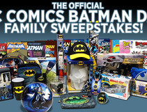 A Triple Threat of Batman Day Sweepstakes
