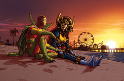 Relationship Roundup: Big Barda and Scott Free