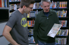 DC All Access's Best Moments of 2013: Blair Tours DC Entertainment's New York Library