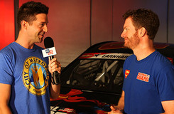DC All Access: Win a Superman Under Armour T-Shirt Signed by Dale Earnhardt, Jr.