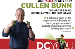 Are You Ready for Green Lantern: The Lost Army's Cullen Bunn?