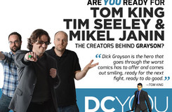Are You Ready for Grayson's Tom King, Tim Seeley and Mikel Janin?