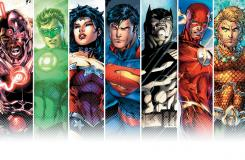 JUSTICE LEAGUE #1 8th printing cover