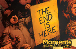 Ten Moments That Mattered: Doomsday Clock Debuts