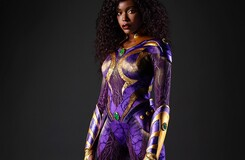 First Look: Anna Diop Suits Up as Titans' Starfire