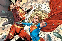 Supergirl Bonds with New Super-Man