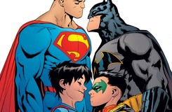 This Just Happened: Jon Kent Gut Punches Damian Wayne!