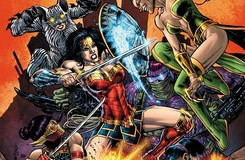 Wonder Woman Takes Down Cheshire, Plastique and More!