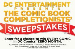 "Enter to Win ""The Comic Book Completionists' Sweepstakes"""