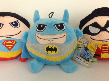 Back and Better Than Ever...It's the DC Comics SDCC Dog Plushes!