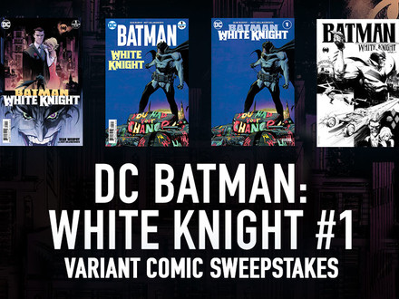 All-New Chance to Win for Batman Fans!