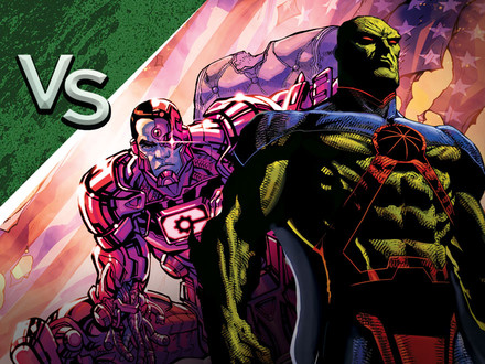 DC All Access: Cyborg vs. Martian Manhunter