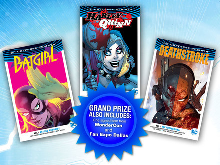 Thanks for Watching DC All Access! Check Out this All-New Chance to Win