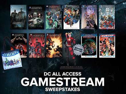 Check Out This Latest Chance to Win from DC All Access!